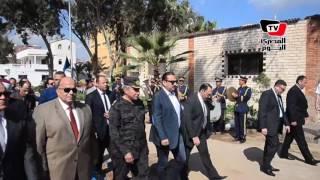 محافظ الدقهلية يفتتح مسجد النقيب كريم رفعت شهيد قطاع الأمن المركزي