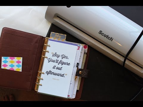 Scotch Laminator Review/ Tutorial