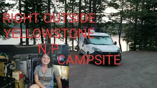 Finding An Amazing Campsite Between Grand Tetons & Yellowstone National Park