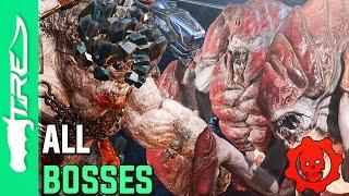 Gears of War 4 Horde Mode 3.0 Gameplay - ALL Boss Waves Gameplay (Gears of War 4 Horde Mode 3.0)