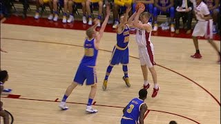Highlights: Stanford takes care of UCLA in men's basketball