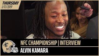 Alvin Kamara Talks Sense of Urgency, Return of Rams' Talib, Ted Ginn's Impact | New Orleans Saints Video