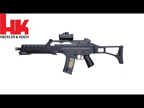 ATIRANDO  -  HECKLER & KOCH  (HK)  G36  -  (5.56x45mm / .223 Rem)  E U A