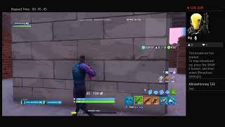 getting absolutly destroyed in FORTNITE