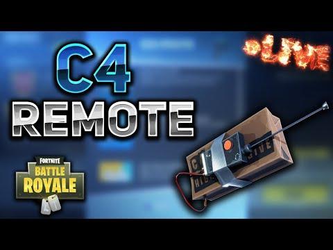 NEW C4 EXPLOSIVE REMOTE! - Fortnite Battle Royale LIVESTREAM