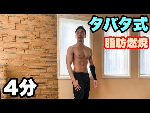 タバタ式トレーニングで脂肪燃焼!!Let's try Tabata!!