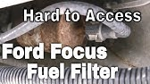 2000 2007 Ford Focus Fuel Filter Youtube