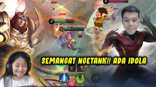 YANG PENTING BTR VIVIAN NGETANK-IN IDOLA OURA😍!! -MOBILE LEGENDS INDONESIA