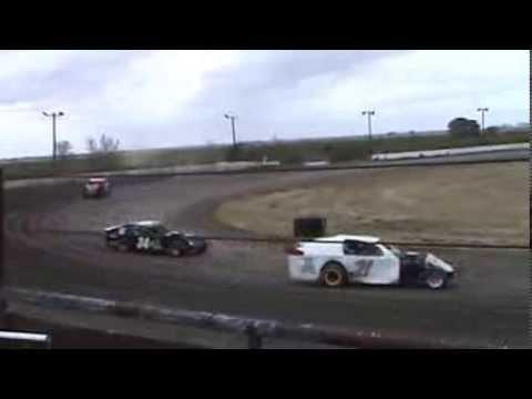 Texana Raceway Park practice 3-16-13 limited mod Harp