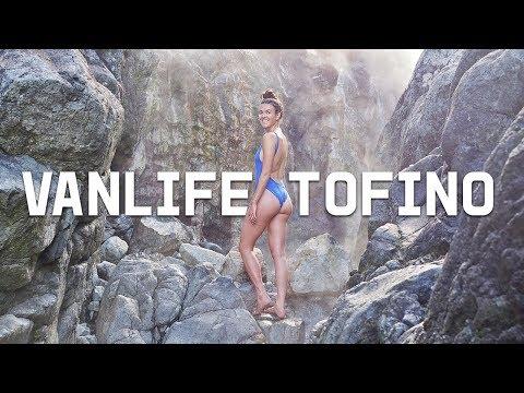 VAN LIFE IN TOFINO //whales, hot springs + bears, oh my!