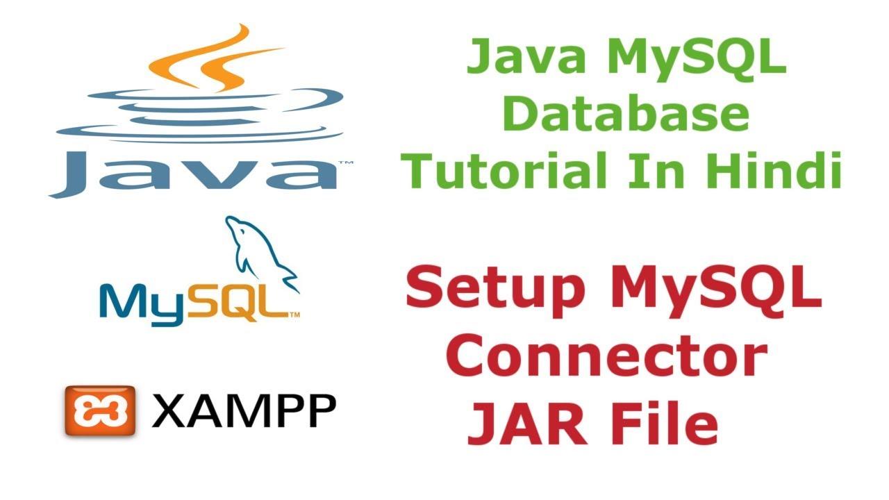 Java MySQL Database Tutorial - 1 - How To Setup MySQL Connector JAR File -  Hindi