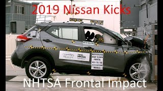 2018-2021 Nissan Kicks NHTSA Frontal Impact