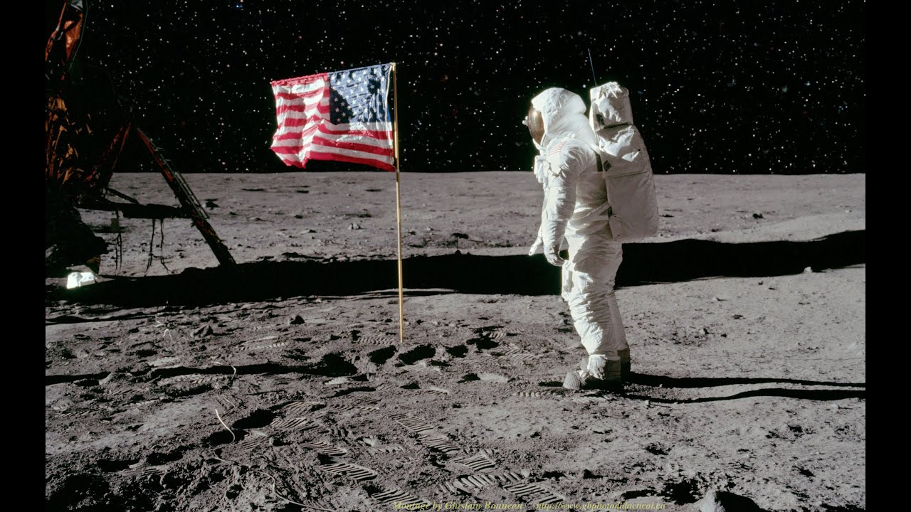 Armstrong walks on moon  Jul 20 1969  HISTORYcom