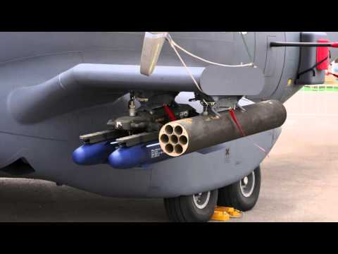SOFEX 2014 ATK AC-235 Light Gunship