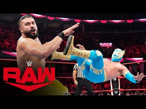 Sin Cara vs. Andrade: Raw, Oct. 21, 2019