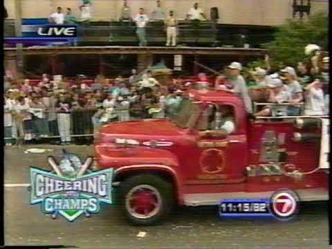 Pt. 2: Florida Marlins 2003 World Series Champions Downtown Miami Parade