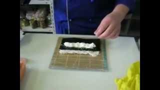 Как приготовить роллы дома видео инструкция