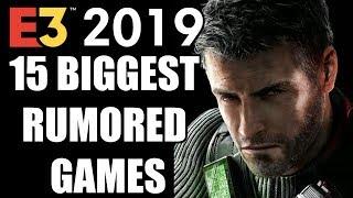 15 Biggest Rumored Games of E3 2019