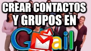 إنشاء جهات الاتصال والمجموعات في Gmail - 2017