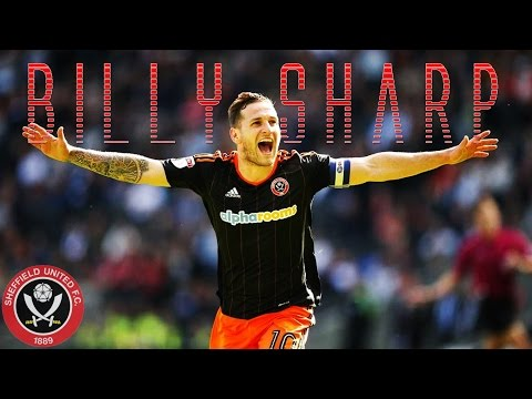 Billy Sharp // All 30 Goals for Sheffield United // 2016-17
