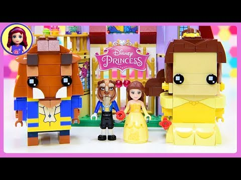 Lego Beauty & the Beast Disney Princess Brickheadz Build Silly Play