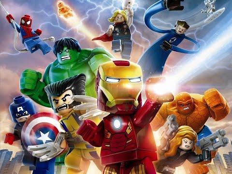 Мультфильм - Лего марвел супергерои - мультфильмы для детей