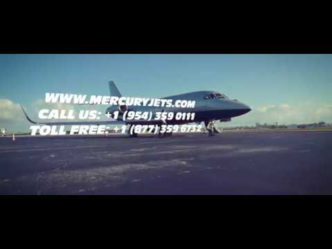 Mercury Jets. On-Demand Private Jet Charter Service