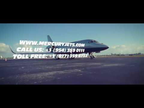 Mercury Jets On-Demand Private Jet Charter Service