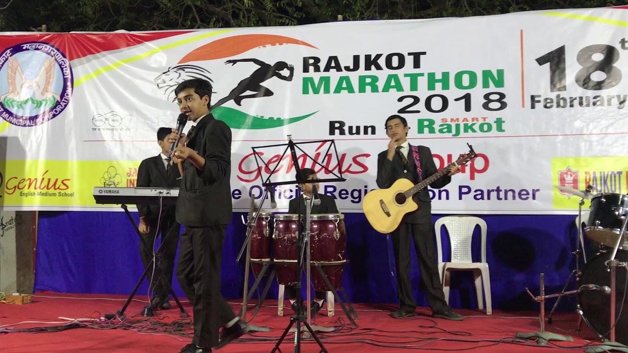 Rajkot Marathon 2018 - Genius English Medium School