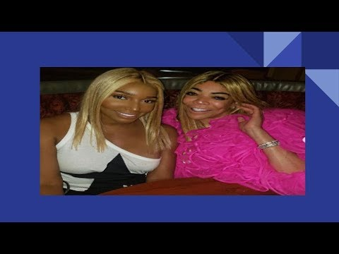WENDY WILLIAMS AND NENE LEAKES PARTY TOGETHER TO BURY OLD BEEF.