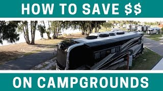 Saving Money on RV Campgrounds