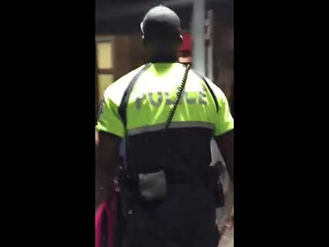 DC Metro Transit Police Kick and Push Young Black Woman at Columbia Heights Metro Station (2 of 2)