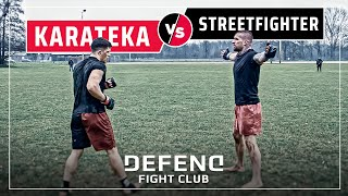 Polish-Youtuber vs. German-Pitbull | MMA Streetfight | DEFEND