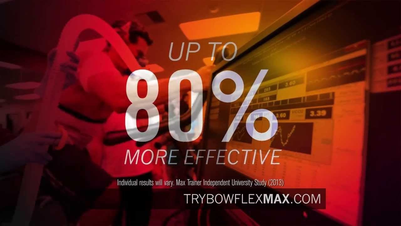Bowflex Max Trainer TV Commercial - YouTube
