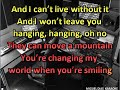 Carolina Deslandes - Mountains ft. Agir (Karaoke) Versão