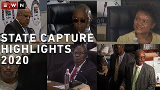 The commission of inquiry into state capture closed for the year on 10 December 2020. Here are some of the biggest moments from the inquiry this year.        #StateCapture  #ZondoCommission #2020
