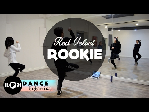"Red Velvet ""Rookie"" Dance Tutorial (Pre-chorus, First Chorus)"