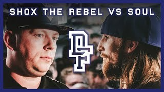 SHOX THE REBEL VS SOUL Don t Flop Rap Battle