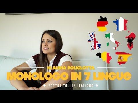 Klaudia poliglotta, parla in 7 lingue   sottotitoli in Italiano