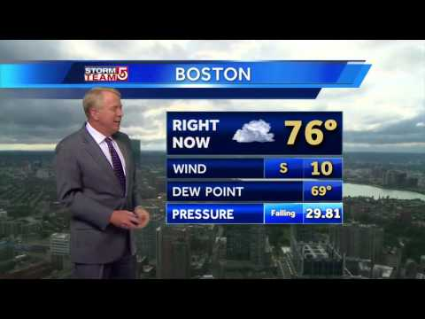Video: Storms move out, sunshine moves in