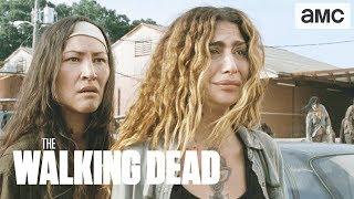 'Earning Michonne's Trust' Talked About Scene Ep. 907   The Walking Dead