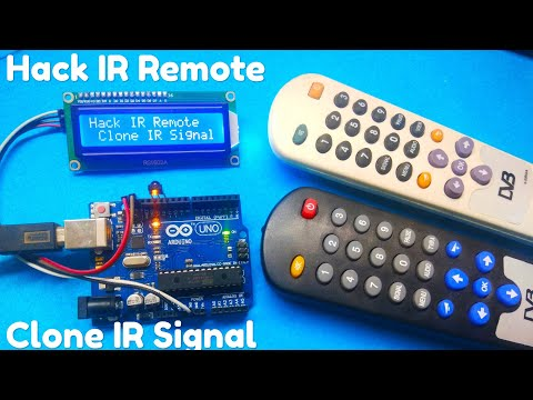 Hack Any IR Remote And Clone IR Signal Using Arduino By Manmohan Pal