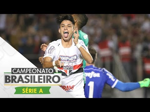 Melhores Momentos - São Paulo 2 x 0 Palmeiras - Campeonato Brasileiro (27/05/2017)