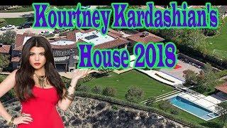 Kourtney Kardashian's House 2018 inside & Outside