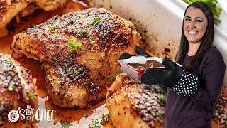 Crispy Oven Baked Chi¢ken Thighs