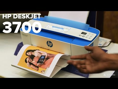 HP DeskJet Ink Advantage 3700 All in One printers hands on r