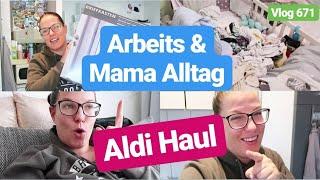 Food Haul l Briefkasten fürs Haus l Arbeitsalltag zu Hause l Vlog 671