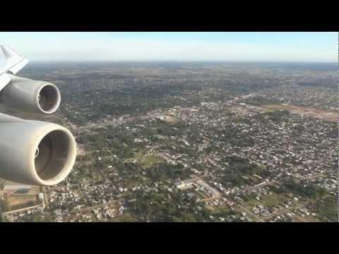 Lufthansa Boeing 747-430 - landing in Argentina, Buenos Aires Ezeiza Airport