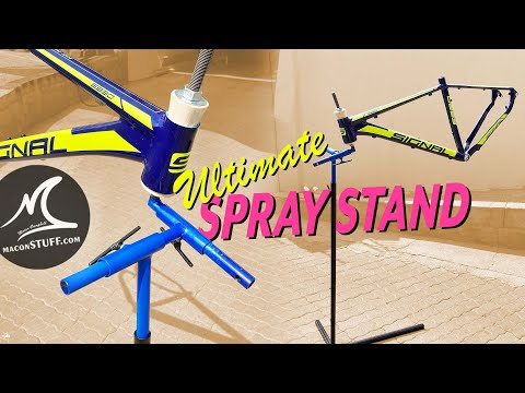 Ultimate Adjustable Spray Stand for Bicycle Frames thumbnail