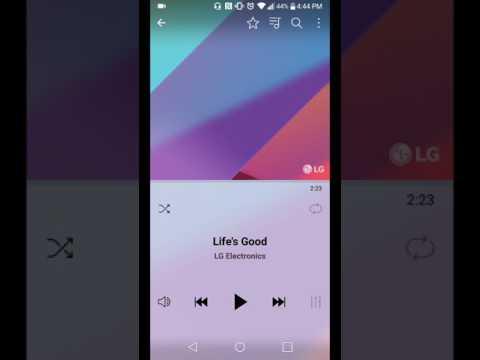 LG G6 Music Player